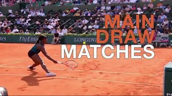 Tennis Channel Plus TV Spot, Road to Roland Garros: Qualifying Rounds' - Thumbnail 9