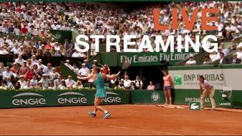 Tennis Channel Plus TV Spot, Road to Roland Garros: Qualifying Rounds' - Thumbnail 1
