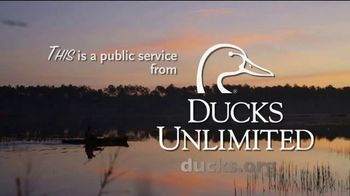 Ducks Unlimited TV Spot, 'This Is Where You Play'