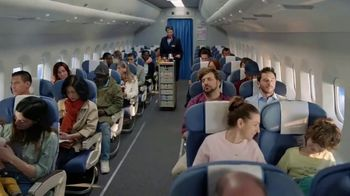 Nicorette Coated Ice Mint Lozenge TV Spot, 'Airplane'