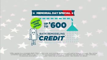 Bath Fitter Memorial Day Special TV Spot, 'Remodeling Credit' - Thumbnail 1