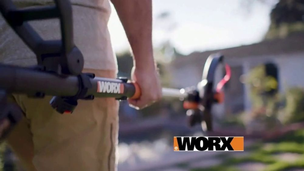 Worx GT Revolution TV Commercial, 'Cordless Grass Trimmer: Lowe's' - Video