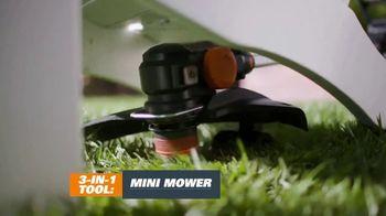 Worx GT Revolution TV Spot, 'Cordless Grass Trimmer: Lowe's' - Thumbnail 4