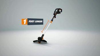 Worx GT Revolution TV Spot, 'Cordless Grass Trimmer: Lowe's' - Thumbnail 5