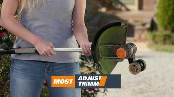 Worx GT Revolution TV Spot, 'Cordless Grass Trimmer: Lowe's' - Thumbnail 6