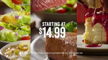 Outback Steakhouse Complete Steakhouse Dinner TV Spot, 'Your Choice' - Thumbnail 7