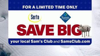 Sam's Club Serta Memorial Day Mattress Hot Buy TV Spot, 'Premium Without the Price' - Thumbnail 10