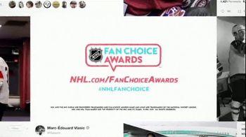 2019 NHL Fan Choice Awards TV Spot, 'The Best Social Media' - Thumbnail 10