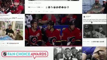 2019 NHL Fan Choice Awards TV Spot, 'The Best Social Media' - Thumbnail 9