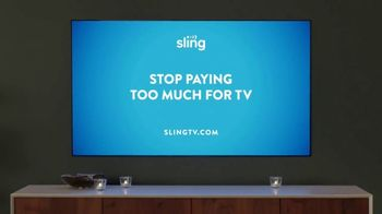 Sling TV Spot, 'Mood: Intro Offer' Featuring Nick Offerman, Megan Mullally - Thumbnail 9
