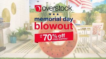 Overstock.com Memorial Day Blowout TV Spot, 'Furniture, Home Decor and Safavieh Rugs' - Thumbnail 2