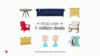 Overstock.com Memorial Day Blowout TV Spot, 'Furniture, Home Decor and Safavieh Rugs' - Thumbnail 3