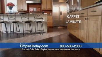Empire Today 75 Percent Off Sale TV Spot, 'Update Your Floors' - Thumbnail 2