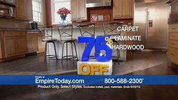 Empire Today 75 Percent Off Sale TV Spot, 'Update Your Floors' - Thumbnail 3