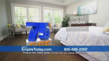 Empire Today 75 Percent Off Sale TV Spot, 'Update Your Floors' - Thumbnail 7