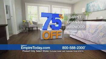 Empire Today 75 Percent Off Sale TV Spot, 'Update Your Floors' - Thumbnail 8