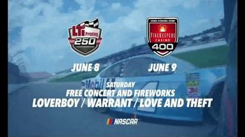 Michigan International Speedway TV Spot, '2019 LTI Printing 250 & FireKeepers Casino 400' - Thumbnail 2