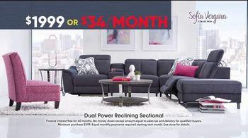 Rooms to Go Memorial Day Sale TV Spot, 'Sofia Vergara Dual Power Reclining Sectional'