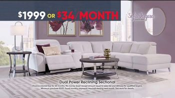 Rooms to Go Memorial Day Sale TV Spot, 'Sofia Vergara Dual Power Reclining Sectional' - Thumbnail 5