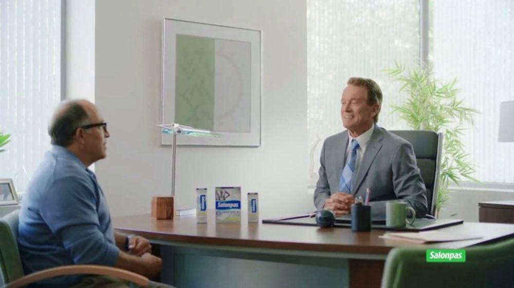 Salonpas Lidocaine Pain Relieving Gel-Patch TV Commercial, 'Non-Addictive Relief'