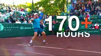 Tennis Channel Plus TV Spot, 'Road to Roland Garros: Bogotá, Lugano, Houston' - Thumbnail 4