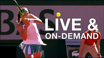 Tennis Channel Plus TV Spot, 'Road to Roland Garros: Bogotá, Lugano, Houston' - Thumbnail 5