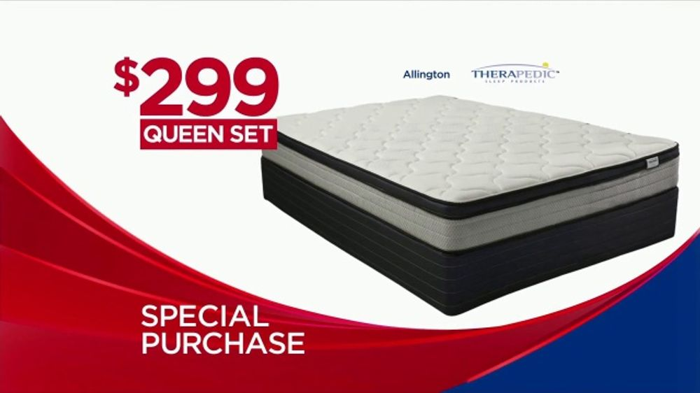 Rooms To Go Mattress >> Rooms To Go Memorial Day Mattress Sale Tv Commercial Special Purchase Video