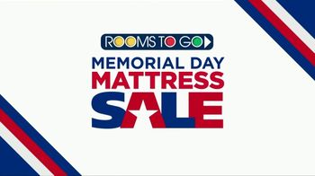 Rooms to Go Memorial Day Mattress Sale TV Spot, 'Special Purchase' - Thumbnail 1