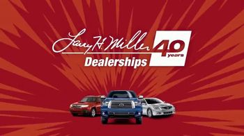 Larry H. Miller LHM 1000 Used Car Sales Event Dealerships TV Spot, '40 Years' - Thumbnail 1