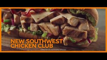 Subway Club Collection TV Spot, 'Southwest Chicken'