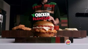Burger King Chicken Parmesan TV Spot, 'Cheesy Delicious' - Thumbnail 1