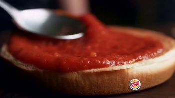 Burger King Chicken Parmesan TV Spot, 'Cheesy Delicious' - Thumbnail 3
