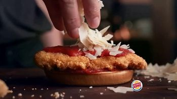 Burger King Chicken Parmesan TV Spot, 'Cheesy Delicious' - Thumbnail 5