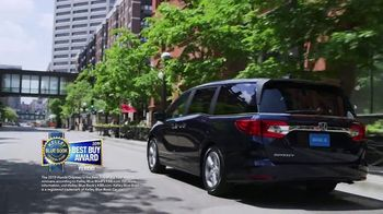 Honda Memorial Day Sales Event TV Spot, 'Life is Better: 2019 Odyssey'  [T2] - Thumbnail 3