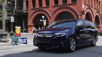 Honda Memorial Day Sales Event TV Spot, 'Life is Better: 2019 Odyssey'  [T2] - Thumbnail 4