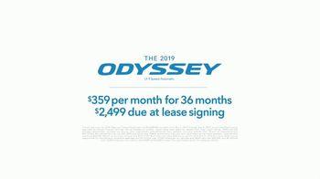 Honda Memorial Day Sales Event TV Spot, 'Life is Better: 2019 Odyssey'  [T2] - Thumbnail 5