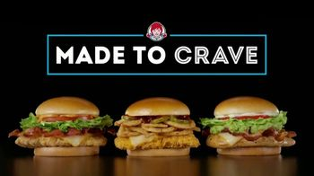 Wendy's Made to Crave Chicken Sandwiches TV Spot, 'Basic Mike' - Thumbnail 7