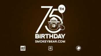 Smokey Bear Campaign TV Spot, 'Al Roker: Smokey Bear's 75th Birthday' - Thumbnail 10