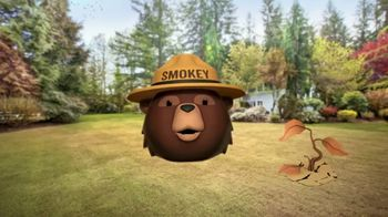Smokey Bear Campaign TV Spot, 'Al Roker: Smokey Bear's 75th Birthday' - Thumbnail 6