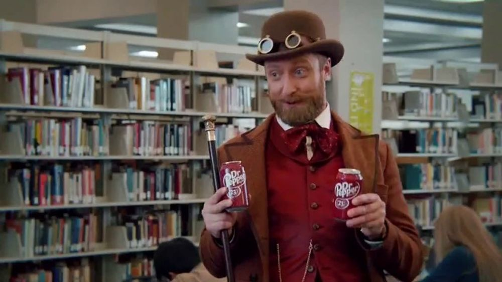 Dr Pepper TV Commercial, 'The Adventures of Dr Pepper: Crug'