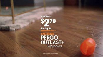 The Home Depot TV Spot, 'Unexpected: Pergo Outlast+' - Thumbnail 9