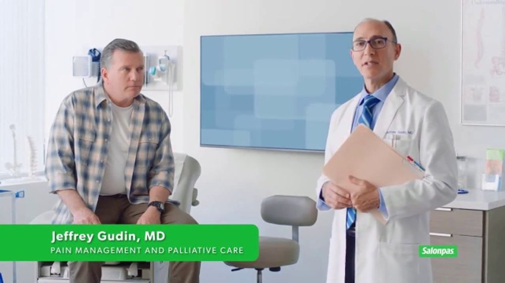 Salonpas TV Commercial, 'Topical First: Doctor'