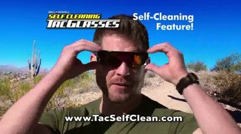 Bell + Howell Self Cleaning Tac Glasses TV Spot, 'The Next Level' Featuring Nick Bolton - Thumbnail 7