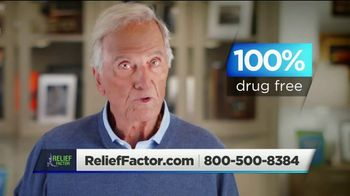 Relief Factor Quickstart TV Spot, 'Test: Sandra' Featuring Pat Boone - 19 commercial airings