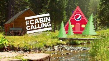 Pepsi TV Spot, 'Summergram: Cabin Calling'