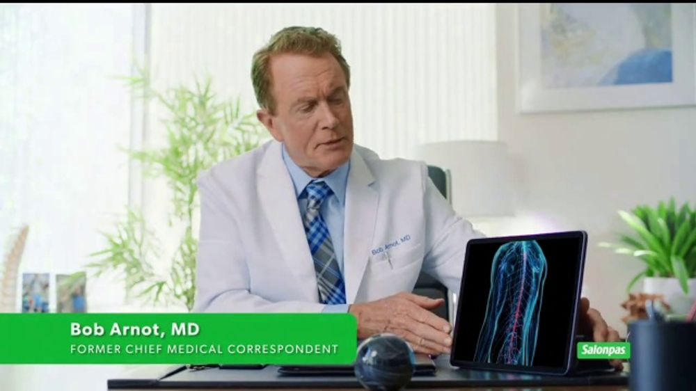 Salonpas Lidocaine TV Commercial, 'Before You Take Anything' Featuring Bob Arnot