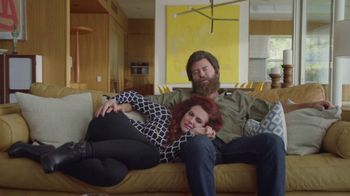 Sling TV Spot, 'First Timers: Easy' Featuring Nick Offerman, Megan Mullally - 2304 commercial airings