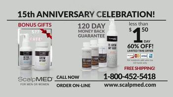 ScalpMED 15th Anniversary Celebration TV Spot, 'Are You Losing Your Hair?' - Thumbnail 9