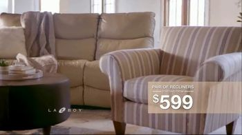 La-Z-Boy Father's Day Sale TV Spot, 'Pair of Recliners' - Thumbnail 5