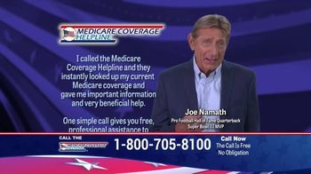 Medicare Coverage Helpline TV Spot, 'Medigap Coverage' Featuring Joe Namath - Thumbnail 5